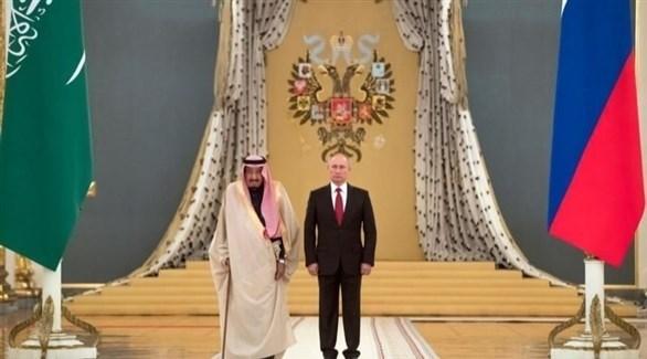 الرئيس الروسي بوتين والعاهل السعودي الملك سلمان (أرشيف)