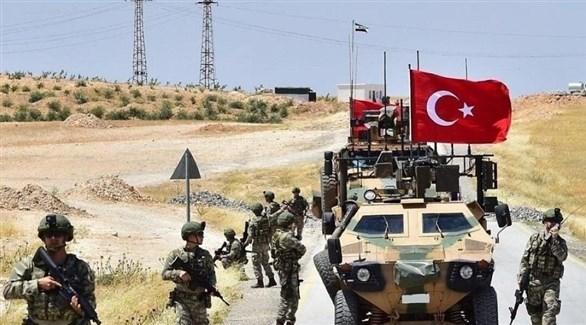 القوات التركية الغاشمة داخل الأراضي السورية