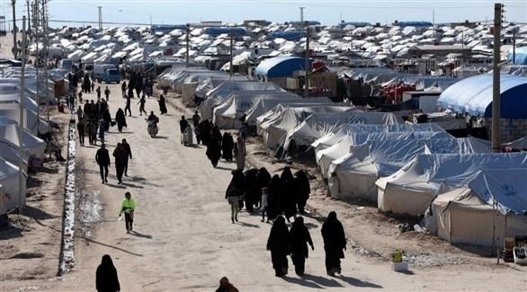 مخيم عين عيسى في شمال سوريا (أرشيف)