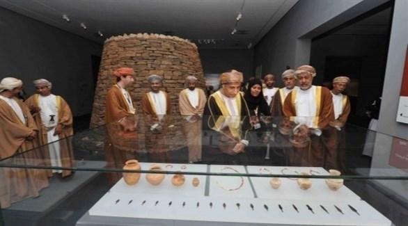 من داخل المتحف الوطني العماني (أرشيف)