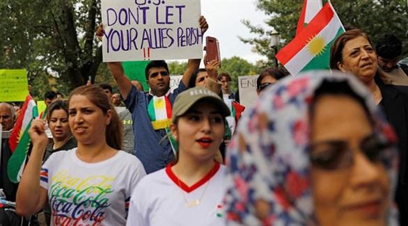 متظاهرون أكراد في ألمانيا ضد تركيا (ديلي تايمز)