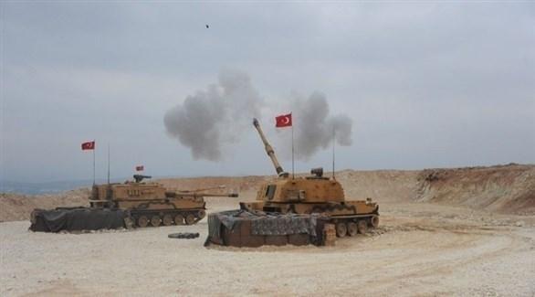 آليات عسكرية تركية في شمال سوريا (أرشيف)