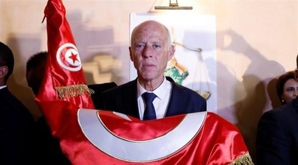 رئيس الجمهورية التونسية قيس سعيد (أرشيف)