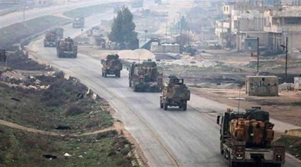 قوات تركية تقتحم مدينة منبج السورية (تويتر)