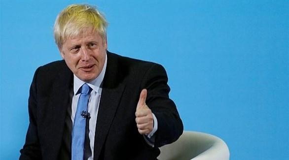 رئيس وزراء بريطانيا بوريس جونسون (أرشيف)