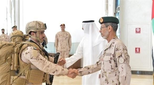 عودة القوات الإماراتية (وام)