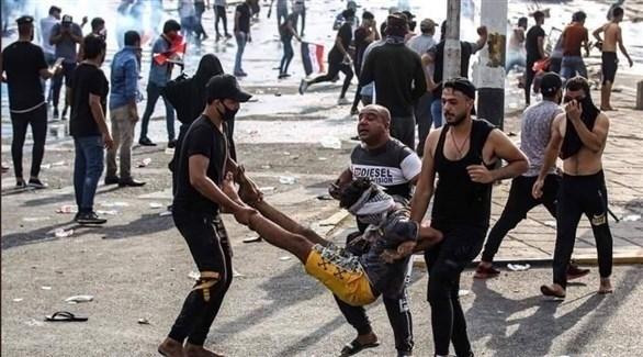 ميليشيات إيرانية تقمع متظاهري العراق
