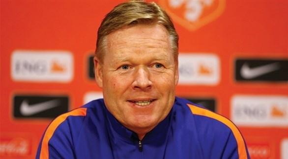 مدرب منتخب هولندا سعيد لهذا