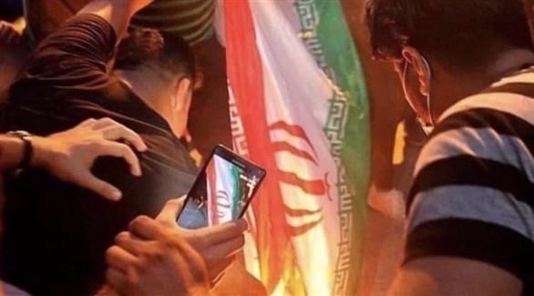 إيران تنظر لتظاهرات العراق كمؤامرة
