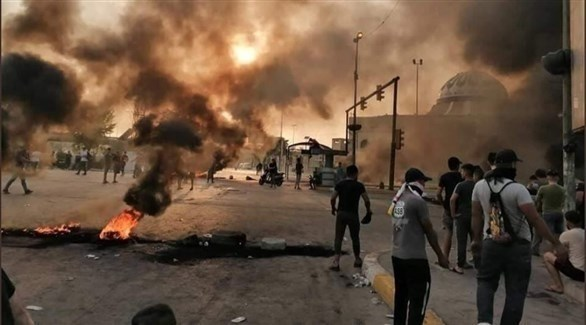 أبرز أحداث الحراك العراقي مطلع 201910904138439SJ.jp