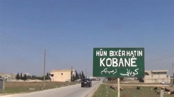 الطريق المؤدي لمدينة عين العرب في شمال سوريا (أرشيف)