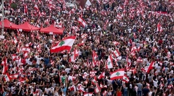 احتجاجات ضخمة في لبنان (أرشيف)