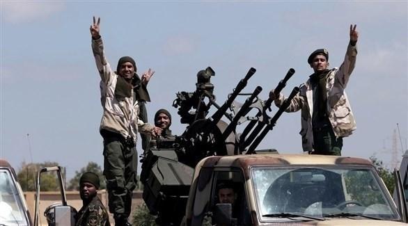 جنود من الجيش الوطني الليبي (أرشيف)