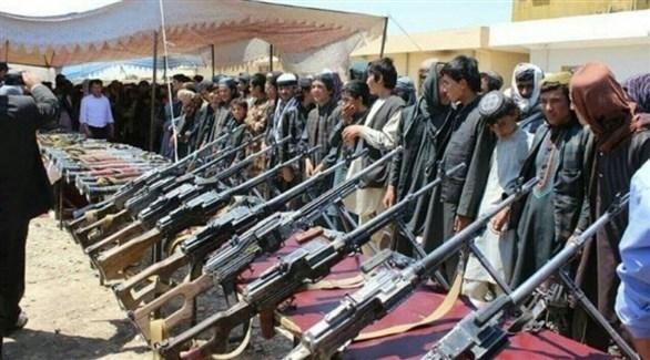 مسلحون من تنظيم داعش في أفغانستان (أرشيف)
