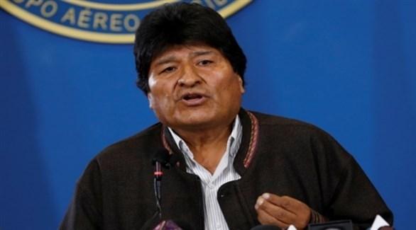 الرئيس البوليفي السابق إيفو موراليس (أرشيف)