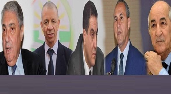 مرشحو الانتخابات الرئاسية بالجزائر (أرشيف)