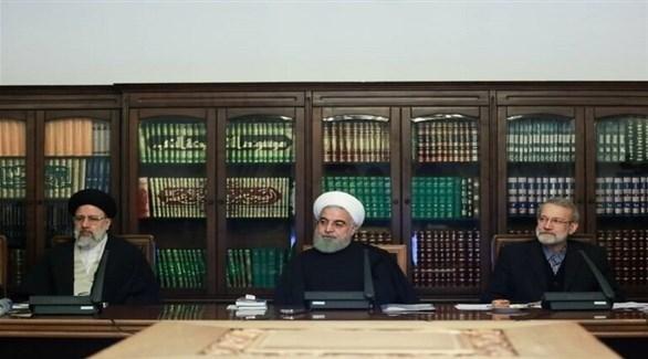 اجتماع المجلس الاقتصادي الأعلى في إيران (أرشيف)