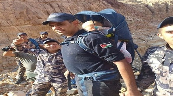عناصر من الدفاع المدني الأردني في مهمة سابقة (أرشيف)