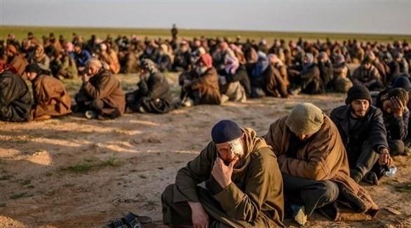 أسرى من تنظيم داعش الإرهابي في سوريا (أرشيف)