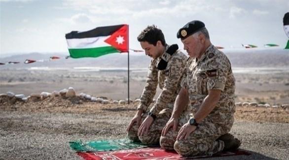 بالصور عبدالله الثاني يزور منطقة الغمر بعد استعادتها من إسرائيل