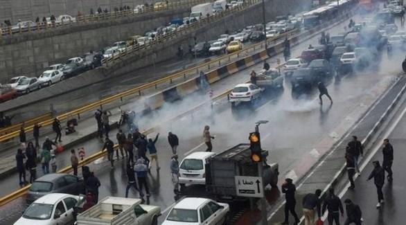 احتجاجات في إيران ضد الحكومة (أرشيف)