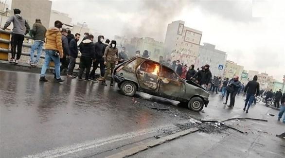 مظاهرات في إيران (أرشيف)