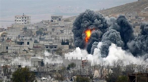 قصف روسي على إدلب السورية (أرشيف)