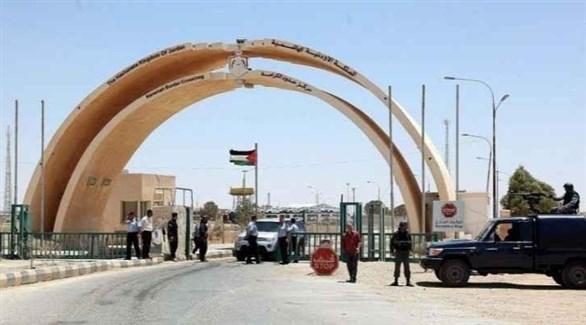 قوات الأمن الأردنية على معبر الكرامة الحدودي (أرشيف)