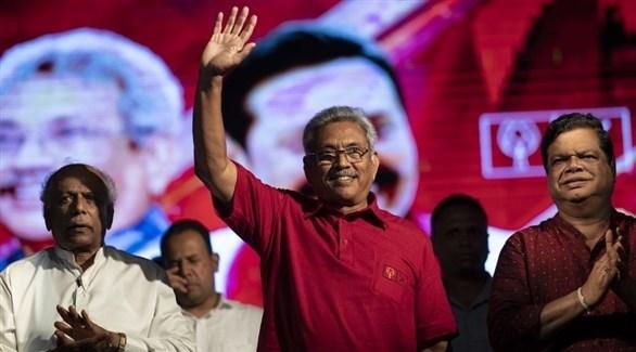 رئيس سريلانكا الجديد غوتابايا راجاباكسا (أرشيف)