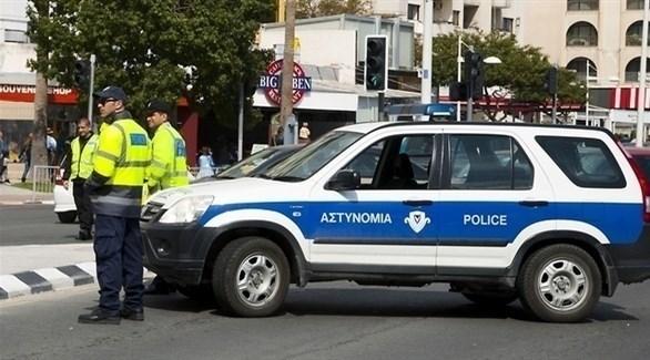 حاجز للشرطة القبرصية في عملية أمنية سابقة (أرشيف)