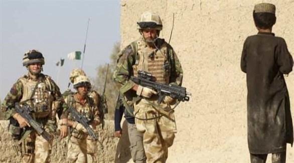 عناصر من الجيش البريطاني في أفغانستان (أرشيف)
