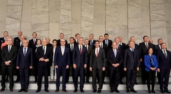 وزراء دفاع دول حلف شمال الأطلسي (أرشيف)