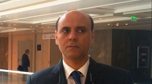 رئيس حزب الإئتلاف الجمهوري الليبي عز الدين عقيل (أرشيف)