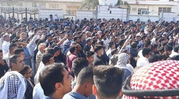 أحوازيون يتظاهرون ضد السلطات في إيران (أرشيف)