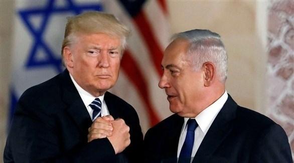 رئيس الوزراء الإسرائيلي بنيامين نتانياهو والرئيس الأمريكي دونالد ترامب (أرشيف)