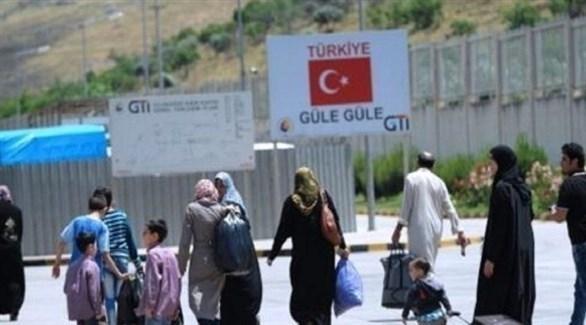 لاجئون سوريون يغادرون تركيا (أرشيف)