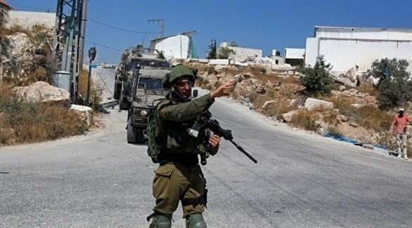 جندي إسرائيلي في الضفة الغربية (أرشيف)