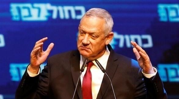 رئيس حزب أزرق أبيض الإسرائيلي بيني غانتس (ارشيف)