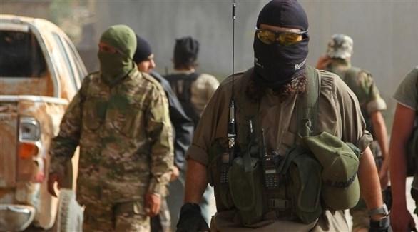 عناصر من تنظيم داعش الإرهابي (أرشيف)