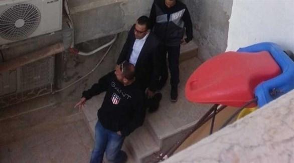 لحظة اعتقال عدنان غيث (تويتر)