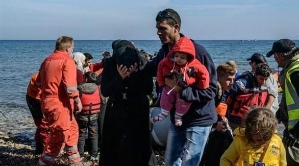 لاجئون سوريون في اليونان (أرشيف)