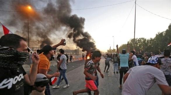 محتجون في العراق (أرشيف)