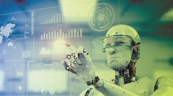 روبوت من جيل الثورة الصناعية الرابعة (تعبيرية)