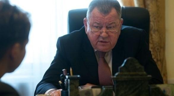 نائب وزير الخارجية الروسي أوليغ سيرومولوتوف (أرشيف)