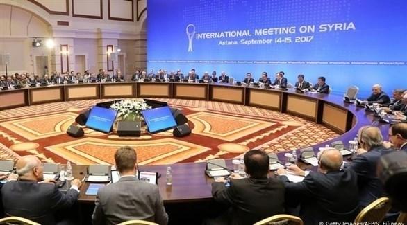 محادثات سلام في كازاخستان حول سوريا (أرشيف)