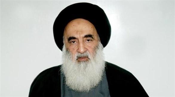 زعيم المرجعية الدينية في العراق علي السيستاني (أرشيف)
