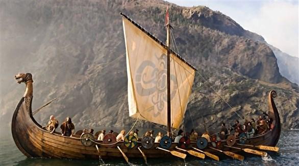 سفن الفايكنغ اشتهرت بشكلها الخشبي المميز (أرشيف)