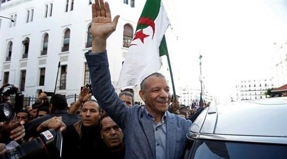 المرشح للانتخابات الرئاسية الجزائرية عبد القادر بن قرينة (أرشيف)