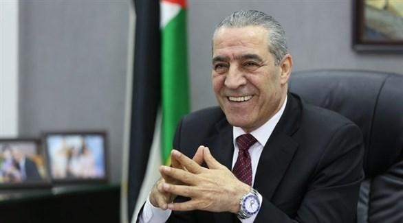 عضو اللجنة المركزية لحركة فتح الفلسطينية حسين الشيخ (أرشيف)