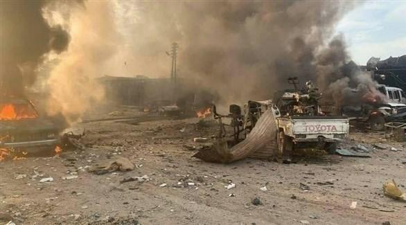 انفجار سيارة مفخخة بالحسكة السورية (أرشيف)